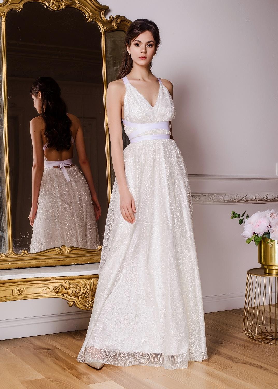 bde21244dcc4733 Платье-макси из дизайнерской ткани